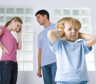 Дети всегда видят проблемы в отношениях родителей