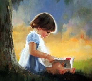 Ребенок с книгой