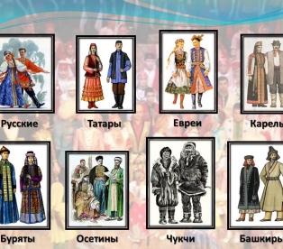 Россия - многонациональная страна