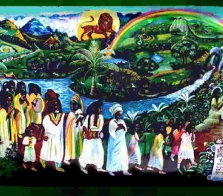 Раста - люди, верящие в бога Джа