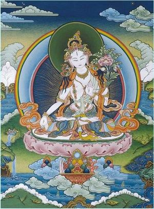 белый цвет в буддизме
