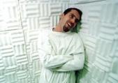 Сумасшедший человек